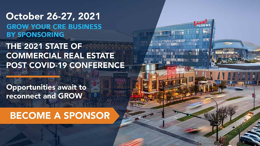 Sponsor The State Of Commercial Real Estate Post Covid 19 Conference By CRE Media And Events